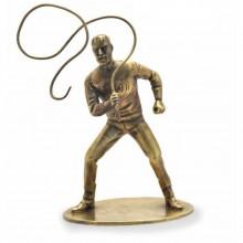 Figurine Pixi Bronze Olrik au fouet
