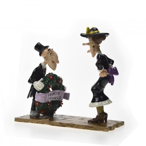 Figurine Pixi Le croquemort et la mégère