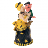Figurine Pixi Lucky Luke, Lulu Carabine and Joe Dalton