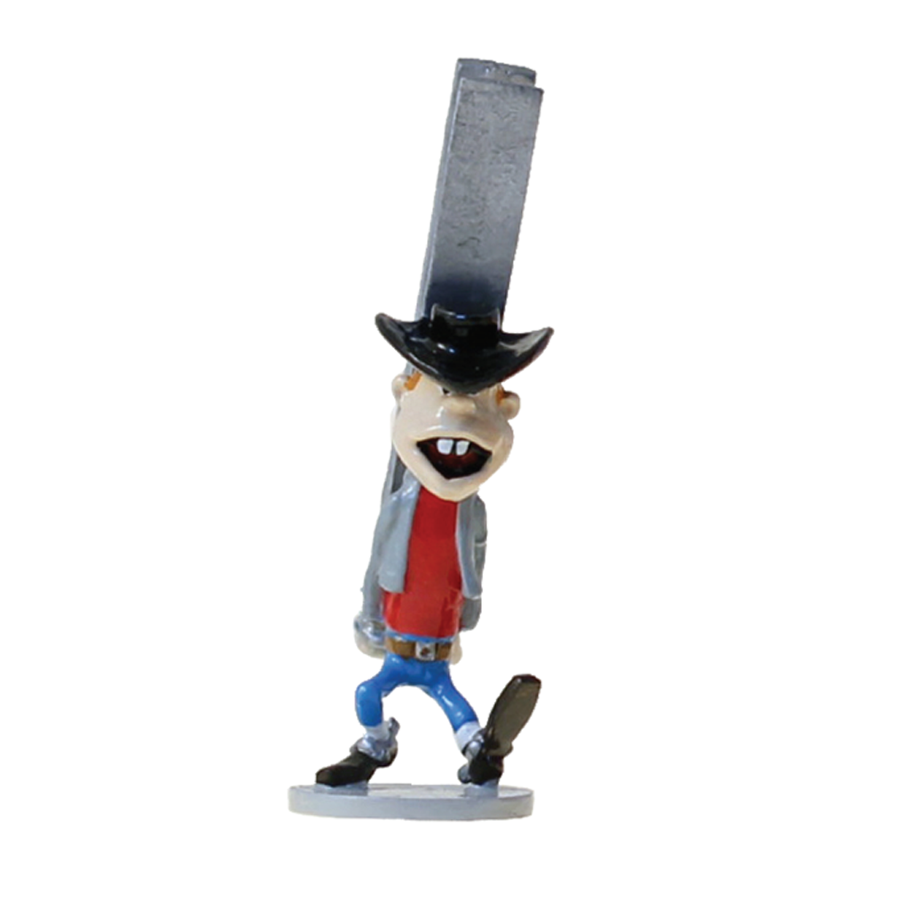 Figurine Pixi Origine Lucky Luke Billy The Kid, l'escorte