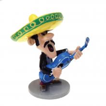 Figurine Pixi Lucky Luke, Joe Dalton mariachi