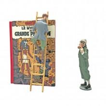 Figurine Blake et Mortimer, Le Mystère de la Grande Pyramide T1
