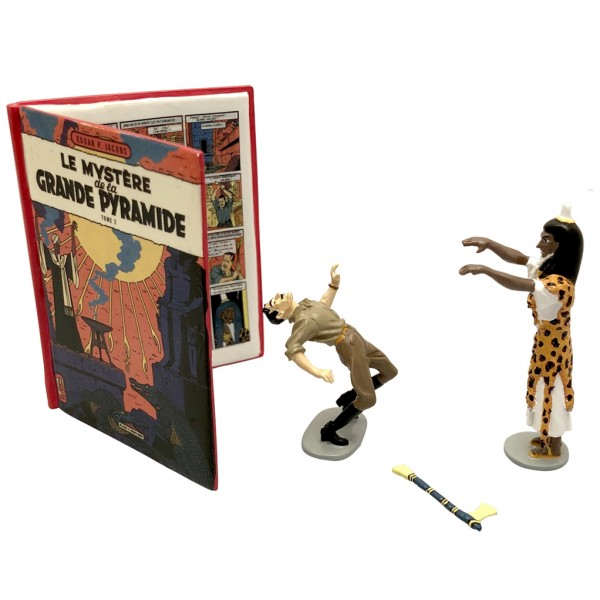 Figurine Blake & Mortimer, The Mystery of the Great pyramid T2