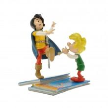 Figurines - Johan et Pirlouit - Piles & Faces