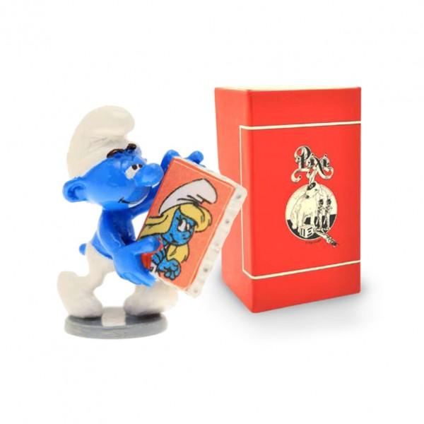 PIXI-ORIGINE-LE SCHTROUMPF AU TABLEAU