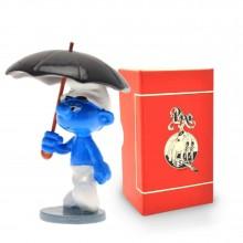 Figurine - PIXI ORIGIN - Smurf with umbrella