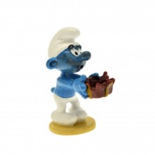 Figurine - Booby trap Smurf - Origin