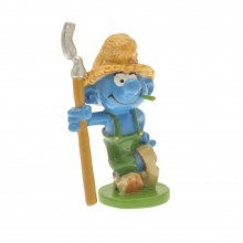 Figurine - Farmer Smurf - Origin
