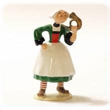 Figurine - Bécassine bugle - Origine