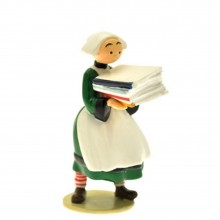 Figurine - Bécassine pile of books - Origine