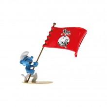 Le Schtroumpf porte-drapeau Pixi - Pixi Origines III