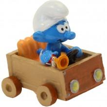 Figurine Pixi Le Schtroumpf klaxon, Code de la route