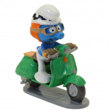 Pixi Figurine The Smurf with the green scooter, Driver's manual