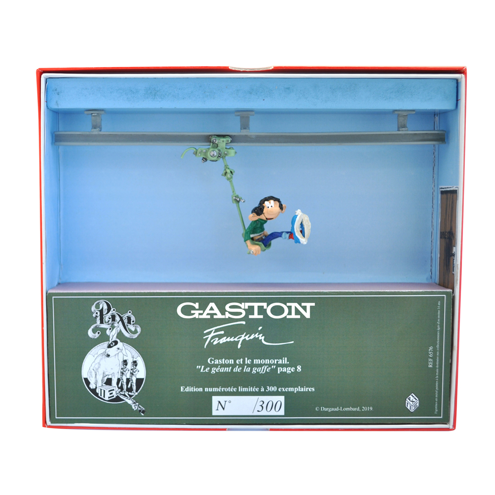 Gaston et le Monorail - Gaston Lagaffe - Collection Boîte