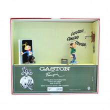 Figurine Gomer Goof & Fantasio The cuckoo clock