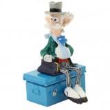 Figurine Pixi Champignac assis sur sa cantine