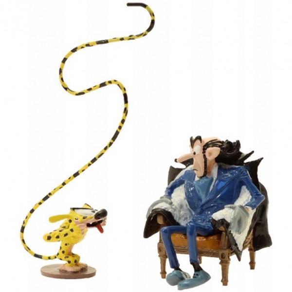 Figurine Pixi Le Marsupilami et Zorglub : la grimace