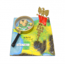 Figurine Pixi Asterix comics cover page