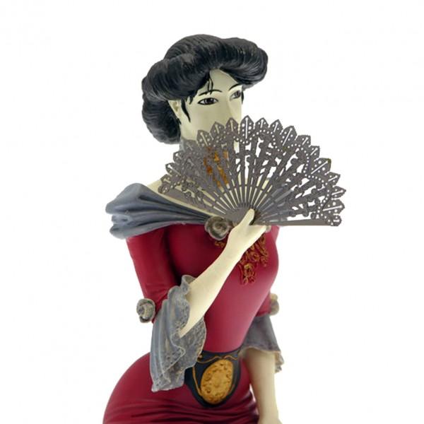 Figurine Attakus Sasmira Rouge Laurent Vicomte