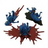 Figurine Attakus 3 Smurfs pack n°1