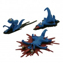 Figurine Attakus 3 Smurfs pack n°2