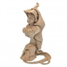 Figurine Attakus Bust Atalante Marble