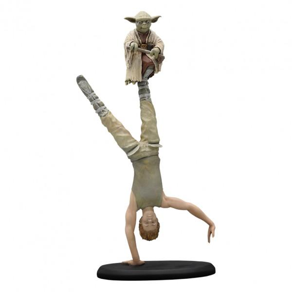 Figurine Star Wars Yoda & Luke sur Dagobah