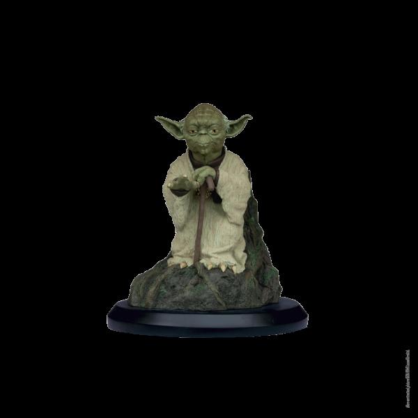 Figurine Star Wars Yoda utilise la force sur Dagobah