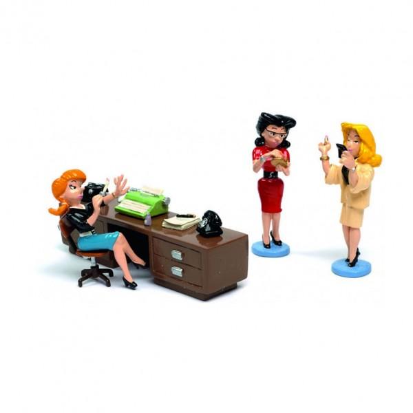 Pixi Gaston - les secrétaires, Suzanne, Yvonne et Sonia