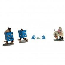 Figurine - Gaston Lagaffe's magician's monkeys