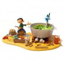 Gaston et la soupe géante