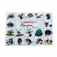 Portfolio Les monstres de Franquin