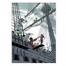 Sérigraphie n°5 (Collection 4 mains) : par Bourgoin et Jean