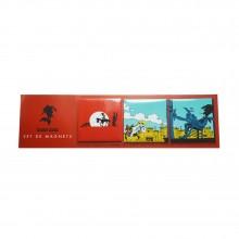 Set de 3 magnets Lucky Luke