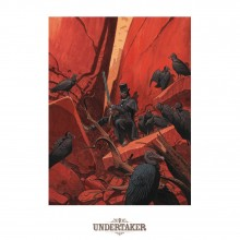 Poster Undertaker La danse des vautours (signed by Ralph Meyer)