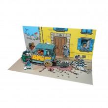 Diorama Gomer Goof Street scene