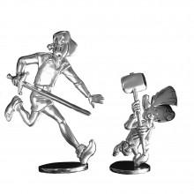 Tin figurine - Johan and Peewit