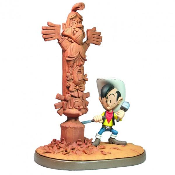 Figurine Kid Lucky et son totem