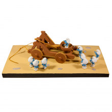 Figurine Fariboles The Smurfs catapult