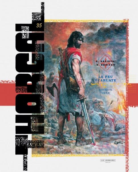 Tirage de uxe - Thorgal - Le feu écarlate