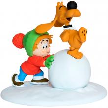 Figurine - Boule & Bill - The snowball