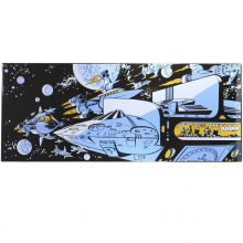 Enamel Plaque - The Empire of a Thousand Planets: Spaceship