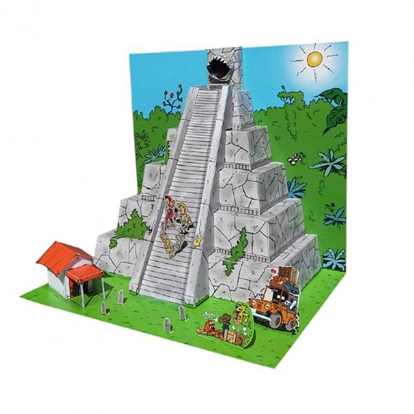 Diorama Marsupilami   La pyramide