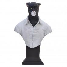 Figurine - John Blacksad (smashed face)