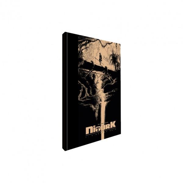 Tirage de Luxe - Niourk Tome 1 L'enfant noir avec ex-libris