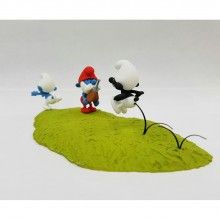 Figurine - the hunt for the Black Smurf
