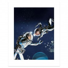 Art print - Dancing beneath the stars (signed by Mezieres)