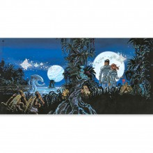 Art print - The Inhabitants of the Sky (signed by Mezieres)