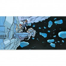 Art print - Space (signed by Mezieres)