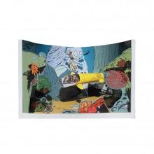 Spirou and Fantasio Diorama - The Eel's Den